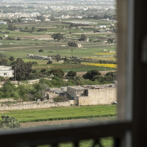 View from the Deluxe Room with Panoramic View at The Xara Palace Lurury Boutique Hotel in Mdina Malta